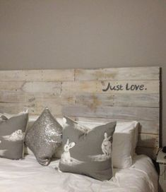 Custom made from Pallet wood - choose your own words and colours!