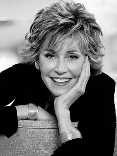 "Jane Fonda. ""A good many dramatic situations begin with screaming."" . . . ""It's never too late - never too late to start over, never too late to be happy."""