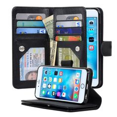 4.7-inch iPhone 6/6S Three Layers Wallet Case - Navor