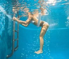 Build Stronger Abs in the Water - SELF