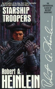 The 1960 Hugo Award winner for best novel, Starship Troopers is another must-read.  Although not as deeply meaningful and philosophical as some of Heinlein's later works, it is a great story about the life and career of an elite power suit equipped fighting Marine.  Also another great book absolutely ruined by the Hollywood adaptation.  Don't let the awful movie cloud your opinion.  Read the book.