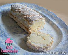 Lisztmentes citromos tekercs Lchf, Paleo, Good Food, Rolls, Lemon, Gluten Free, Bread, Cheese, Roll Cakes