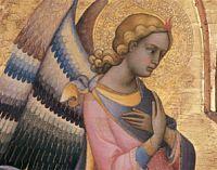 Lorenzo Monaco - Trittico dell'Annunciazione (dell'Accademia), dettaglio - 1410-1415? - Galleria dell'Accademia a Firenze
