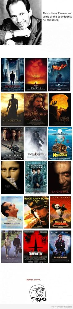 Ineption is my all time fave (music wise). Well otherwise too :D Hans Zimmer