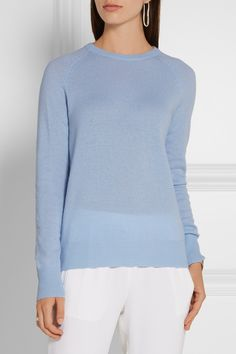 The Elder Statesman Striped Cashmere Sweater | Mens Cashmere ...