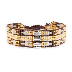Chan Luu - Brown Mix Beaded Single Bracelet, $115.00 (http://www.chanluu.com/bracelets/brown-mix-beaded-single-bracelet/)