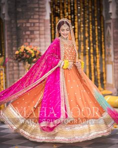 Dec 2019 - Mehndi is an essential and charming capacity at the wedding for young people, as well as for the entire social event. The yellow tone is considered the main colour of Mehndi dresses. The yellow sha… Pakistani Mehndi Dress, Bridal Mehndi Dresses, Pakistani Fashion Party Wear, Pakistani Wedding Outfits, Bridal Dress Design, Pakistani Bridal Dresses, Pakistani Wedding Dresses, Pakistani Dress Design, Bridal Outfits