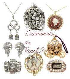 """""""NEW IN at AC Silver - Diamonds or Pearls?"""" by ac-silver ❤ liked on Polyvore featuring vintage"""