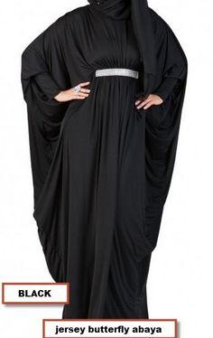 JERSEY butterfly Abaya farasha formal muslim dress long sleeve maxi dress kaftan #Unbranded #MaxiBUTTERFLYfarasha #Formal