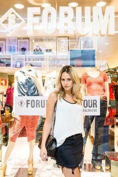 Forum Fashion Tour! Com Mariana Barros e sua escolha de look Forum da Primavera/ Verão 2016. Foto by Bárbara Dutra