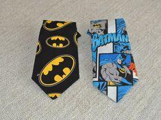 Batman Clip on Necktie  https://www.etsy.com/listing/264337723/clip-on-tie-batman-necktie-boys-clip-on
