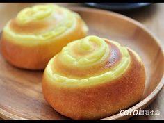 卡士達(克林姆)麵包。Custard Bread - YouTube