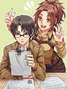 Levi mit Brille