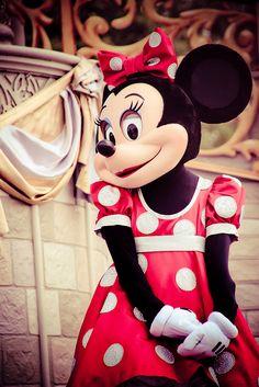 Minnie at the Magic Kingdom