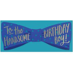 Bow Tie Birthday | The Social Type