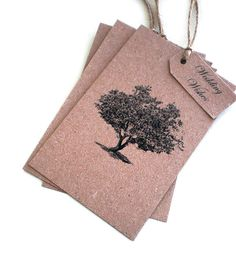 The Wishing Tree is a fabulous idea and totally suited to a rustic themed wedding. Originally a Dutch custom, you provide each of your guests with a tag for them to write their good wishes for you, which they they hang on the Wishing Tree (however you may choose to display them, doesn't have to be an actual tree of course) A great guest book alternative and wedding centrepiece, all in one.