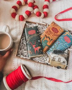 chocolate makes everything more festive! Hot Buttered Rum, How To Make Chocolate, Toffee, Festive, Gift Wrapping, Artwork, Instagram, Sticky Toffee, Gift Wrapping Paper