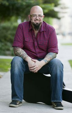 """Why do I think Jackson Galaxy is sexy?... Have you SEEN him with cats?!.... """"Real Men Love Cats."""" Love me, love my cat. Now THAT is sexy."""