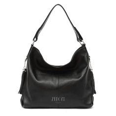 2017 New Fashion Soft Real Genuine Leather Tassel Woman Handbag Ladies  shoulder tote messenger bag purse satchel black white bf007c1f69