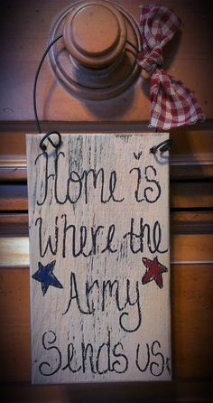 Cute idea fpr a wedding gift!    Hey, I found this really awesome Etsy listing at https://www.etsy.com/listing/177906089/us-army-sign-primitive-stars-army-wife
