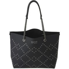 Marc by Marc Jacobs Metropoli Metal Grommet Tote (£295) ❤ liked on Polyvore featuring bags, handbags and tote bags