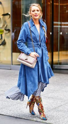 While promoting All I See Is You this week Blake Lively wore an impressive seven outfits in 24 hours. Click here to see all of her looks.