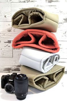 Water resistant Camera Bag insert for your DSLR, photograhers gear,  camera insert for purse or backpack by Darby Mack