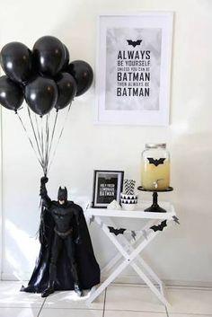 Image result for adult black tie batman party