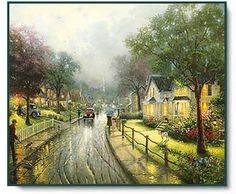 Hometown Memories ~ Thomas Kinkade