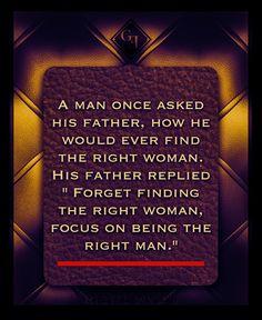 Visual Your Life — gentlemansessentials:   Truth      Gentleman's...