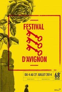 affiche festival d'avignon 2014