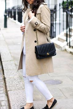 Classic Trench in Chelsea