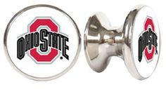 OHIO STATE BUCKEYES NCAA DRAWER PULLS / CABINET KNOBS