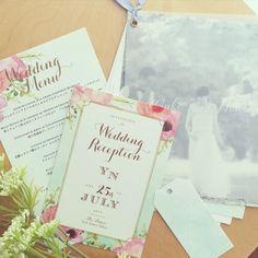 ペーパーアイテム❤︎オーダー再開します の画像|muguet wedding