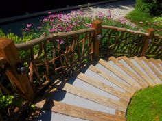 Rustic Outdoor Railing Rails Garden Porch by BlueRidgeRustics, $220.00