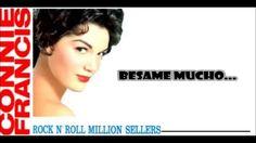"""Connie Francis """"Bésame Mucho"""" With Lyrics HD"""