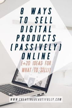 8 Ways to Sell Digital Products Online Start Up Business, Business Planning, Business Tips, Online Business, Business School, Cleaning Business, Etsy Business, Business Money, Make Money Blogging