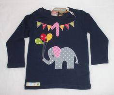 Geburtstags-Shirt Elefant von Suehse-Welt auf DaWanda.com