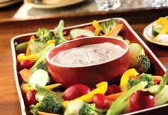 Salsa-Ranch Dip Recipe - Campbell's Kitchen