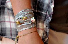 Organized living solutions: bracelet diy