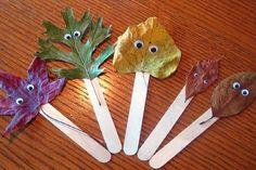 16 bricolages d'automne à réaliser avec des feuilles
