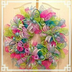 Spring or Easter wreath