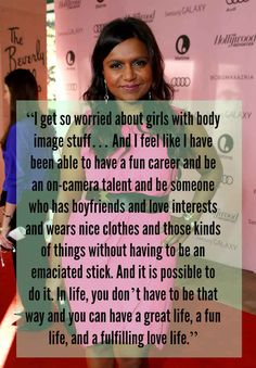 As if I needed another reason to love Mindy!
