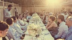 Backyard wedding reception Girls Dresses, Flower Girl Dresses, Real Weddings, Wedding Reception, Photographs, Backyard, Wedding Dresses, Image, Fashion