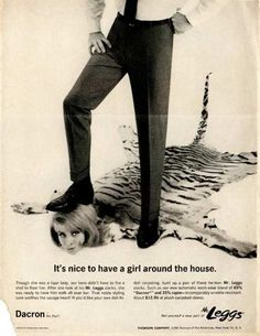 "In the 60s, real-life Mad Men like George Lois, Leo Burnett, David Ogilvy and Bill Bernbach created the ""Golden Age of Advertising."" An interesting perspective is how women fared in ""golden age"" advertising. The answer is: not well. Here's a look at some vintage advertising sexism. Hilarious or horrendous? You be the judge. http://thevodkaparty.com/vintage-sexist-advertising/"