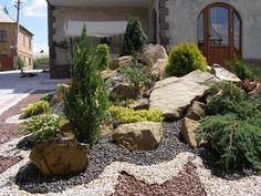 Rock Show Frontyard Landscaping Ideas