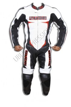 Suda Minchi One Piece Motorbike Racing Leather Suit