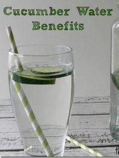 Health Benefits of Cucumber Water  #healthyeating #cucumberwater