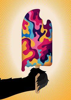 Onesidezero Illustration : Artwork by Brett Wilkinson http://www.onesidezero.co.uk/