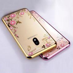 Glitter TPU Silicone cover For Samsung Galaxy J3 J7 J5 2017 Case J530 J5 Pro (2017)  J330 J530 Eurasian Version soft clear coque  Price: 1.66 USD